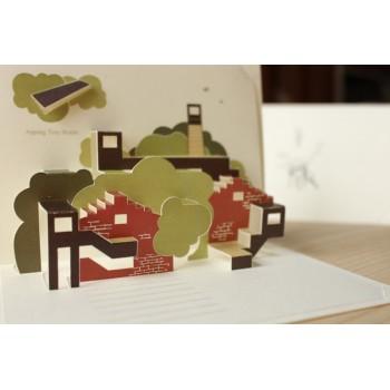 立體卡/台南安平樹屋Pop-upCard-Aping Tee house